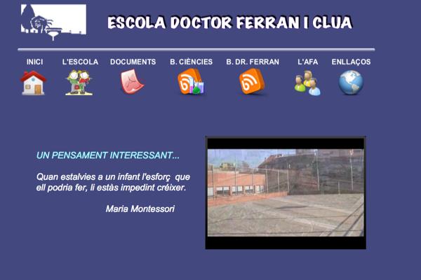 Web Dr. Ferran i Clua
